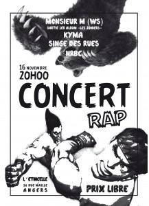 Affiche concert 16-11